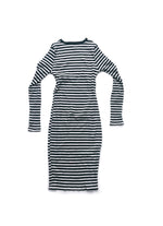 Anna Dress - Black/White
