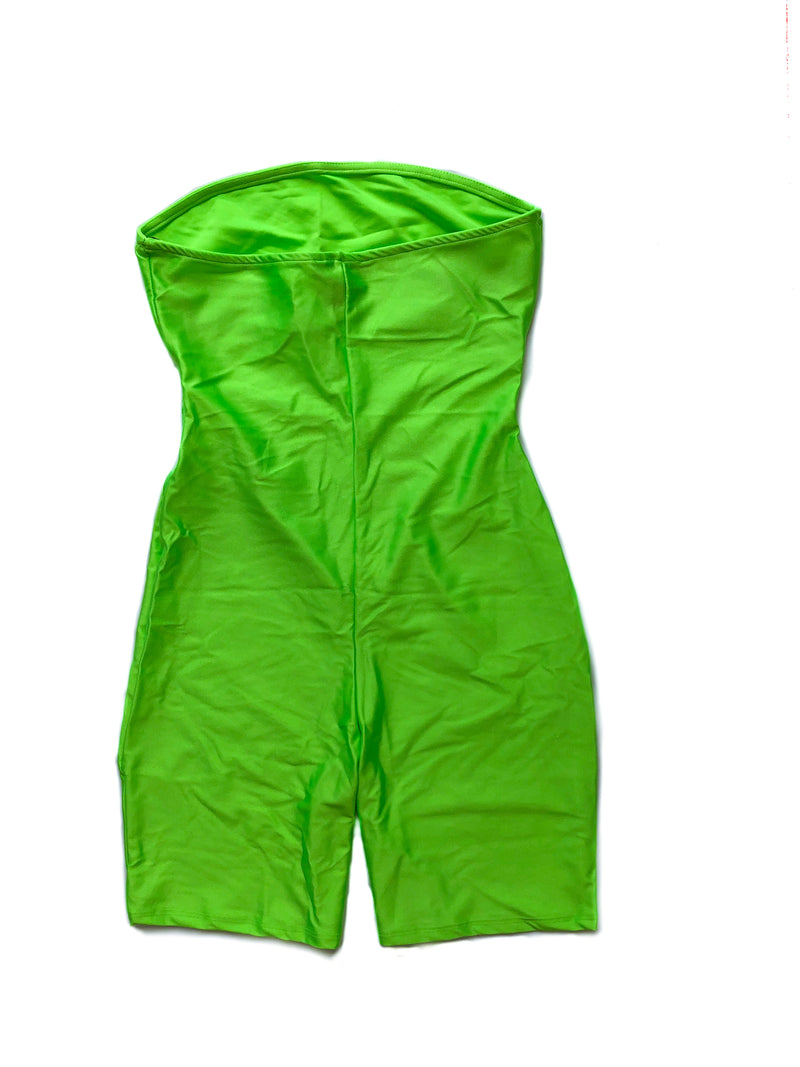 Zoey Jumpsuit - Neon Green