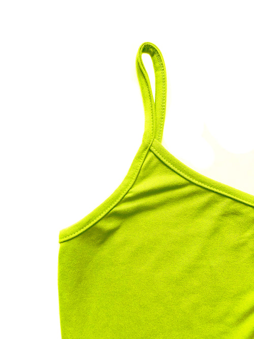 June Bodysuit - Neon Green