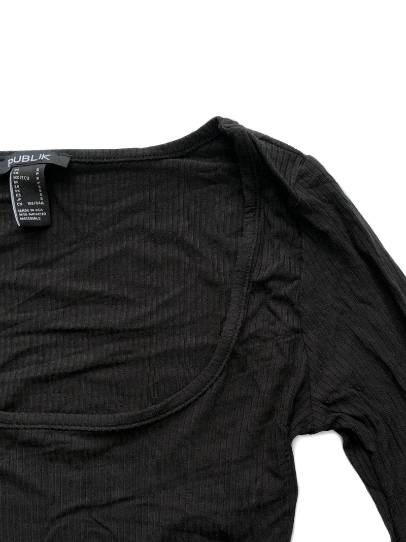 Wren top - Black