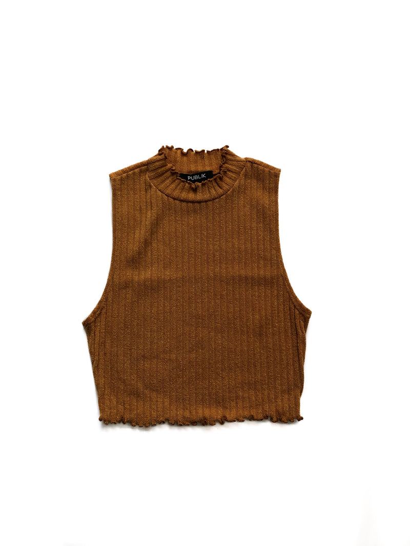 Holly Top - Mustard
