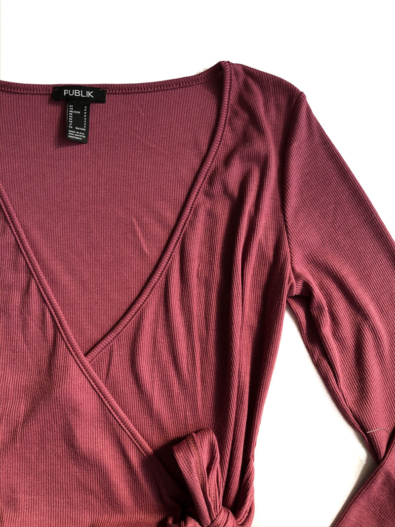 Faith top - Mauve