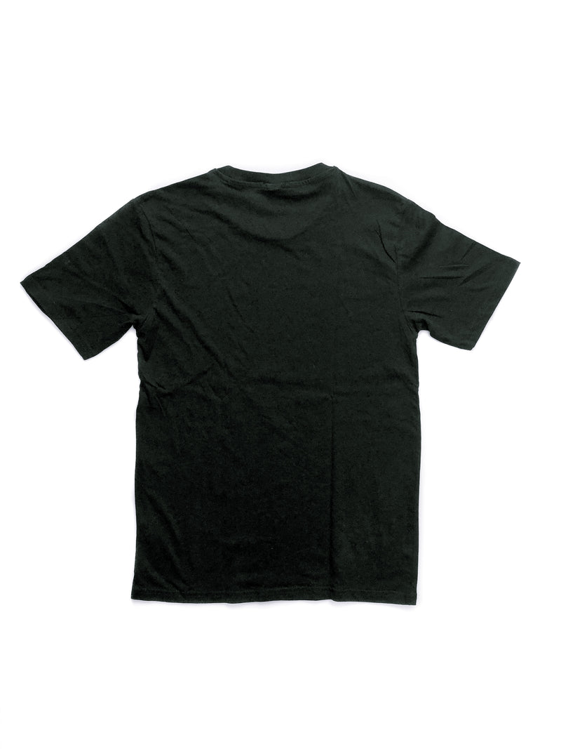 Basic Boyfriend Cotton T-Shirt - Black
