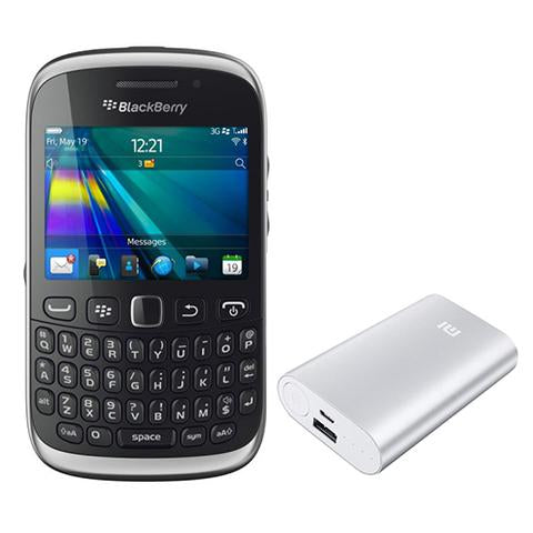 Blackberry Curve 9320 + Power Bank 20400mah