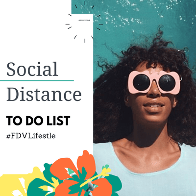 Social Distance To Do List