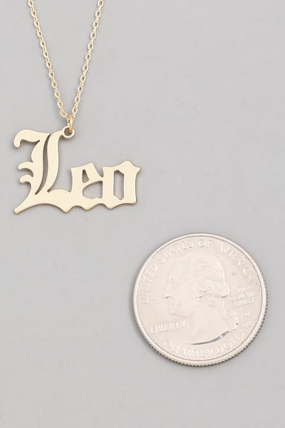 Leo Constellation Necklace - Fason De Viv