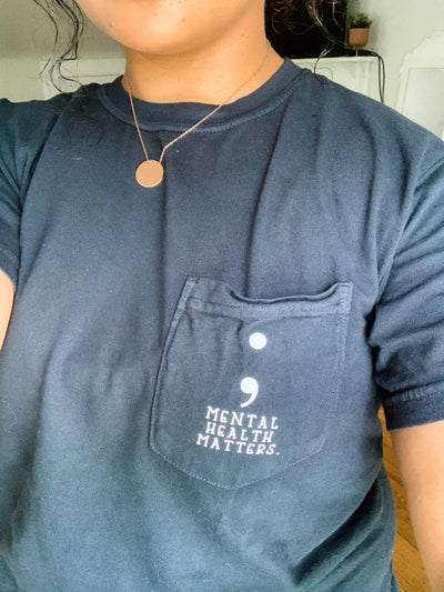 Mental Health Matters Pocket Tee - Fason De Viv