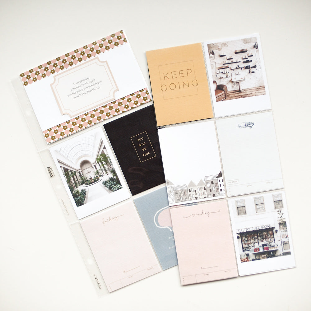 Madison Ave. Journal Cards for Pocket Pages & Project Life