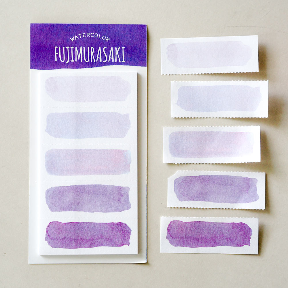 Watercolor Sticky Notes : Fujimurasuki