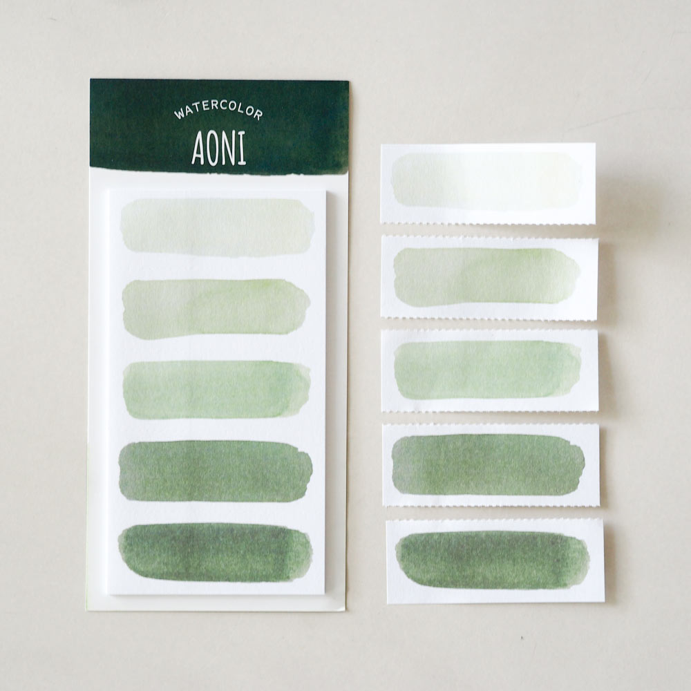 Watercolor Sticky Notes : Aoni