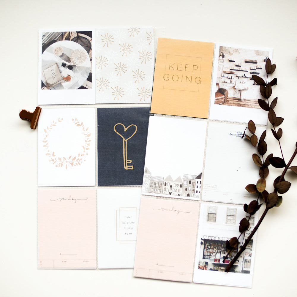 Madison Avenue Journal Cards