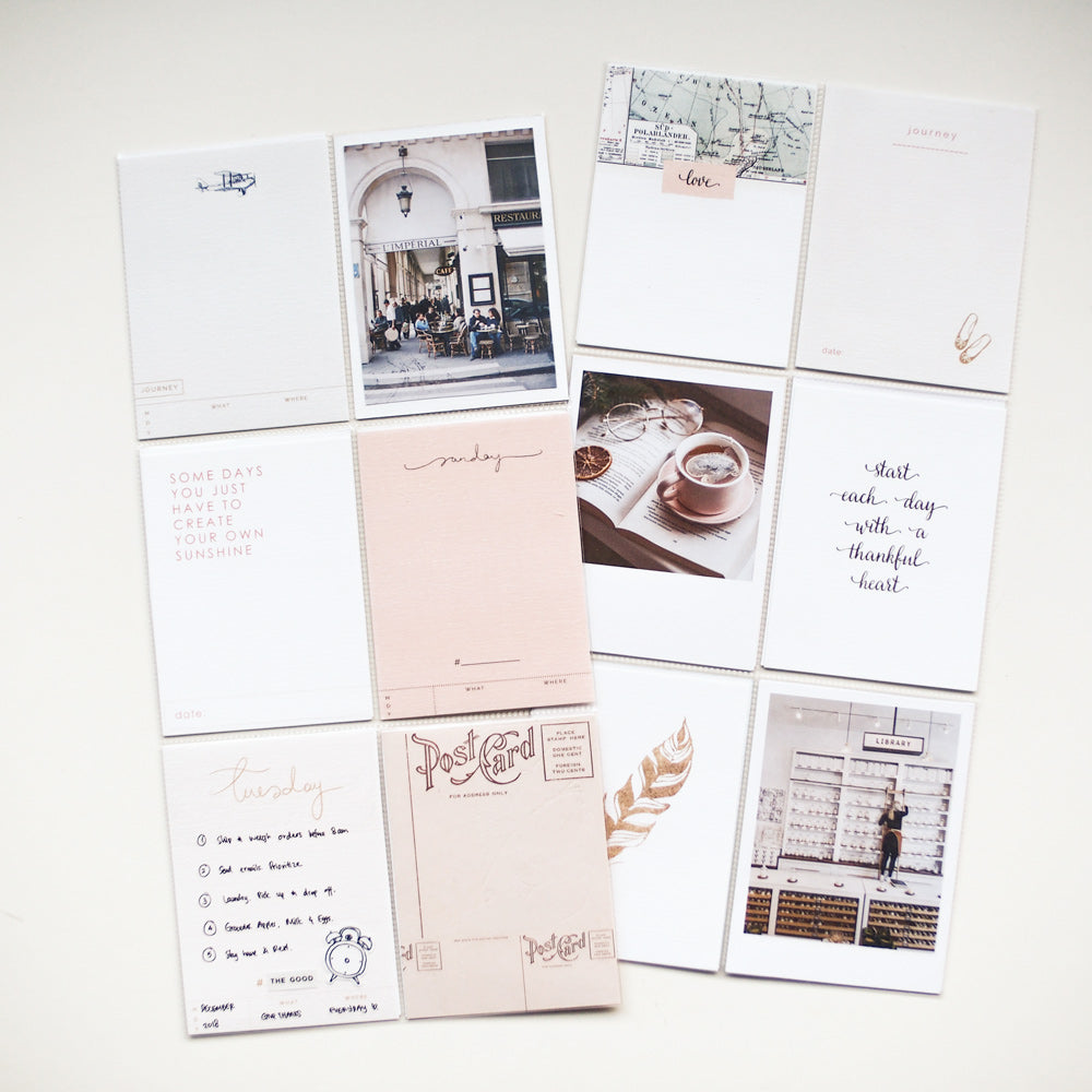 Confettis Journaling Cards