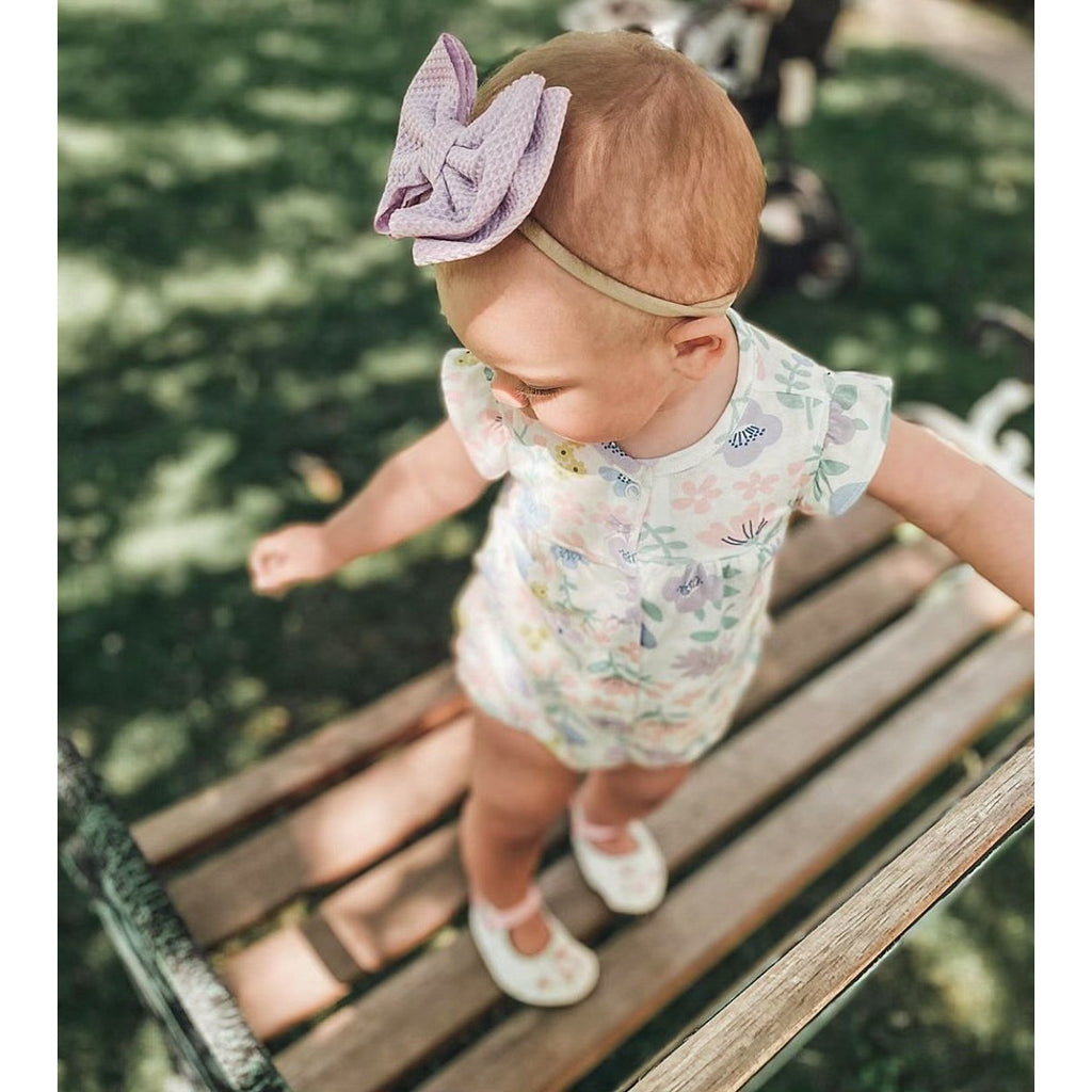 Bow up Baby Girl Headband
