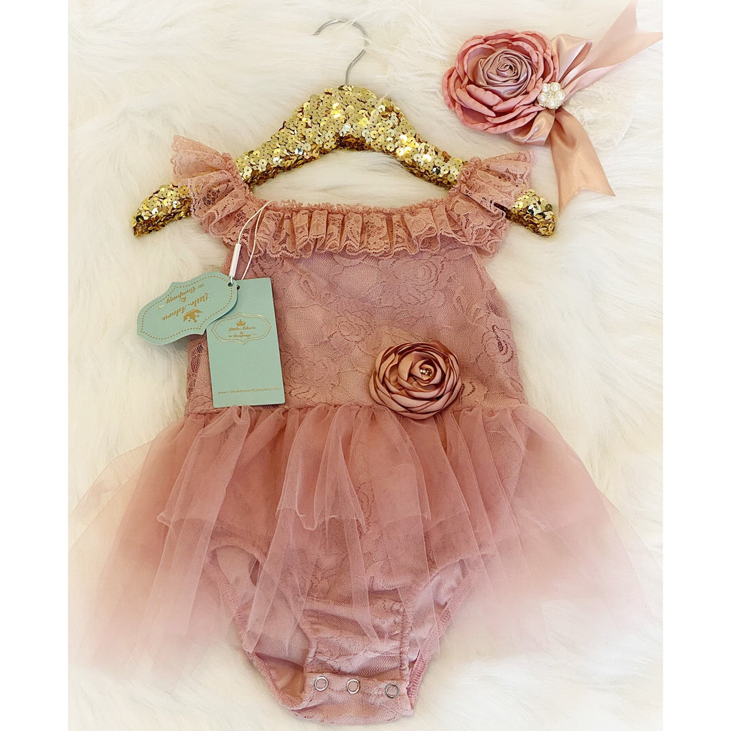 Annabelle Baby Girl Tutu Romper - Little Adora and Company
