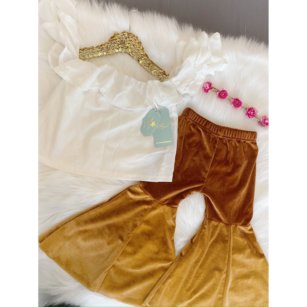 Pretty Bells Girls Outfit - Little Adora and Company