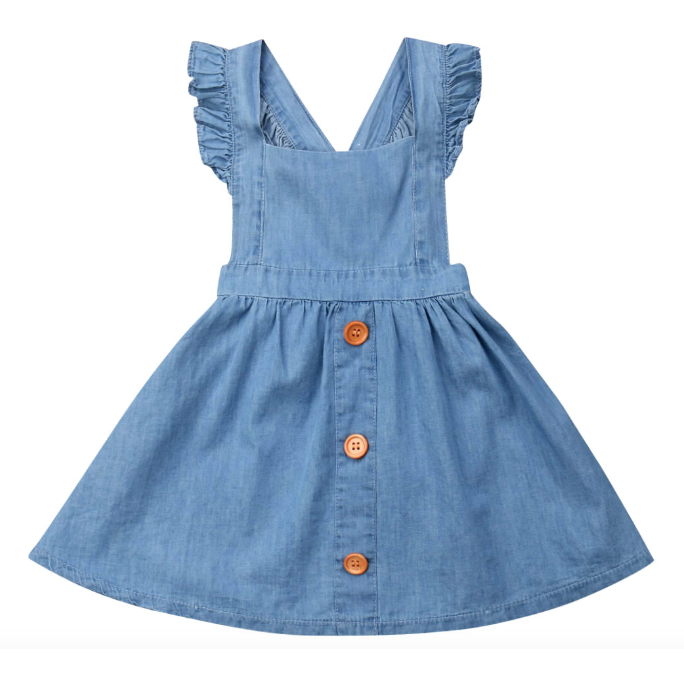 PREORDER Day Dream Baby Girl Dress - Little Adora and Company