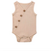 PREORDER Cross Button Baby Girl  Romper - Little Adora and Company