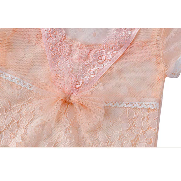 Faith New Born Baby Girl Romper In Pink - Little Adora and Company