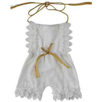 Angelic Baby Girl Romper - Little Adora and Company