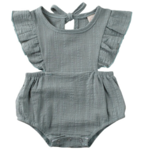 PRE ORDER The Every Day Baby Girl Romper - Little Adora and Company