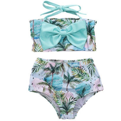 PRE ORDER Tropical Dream  Baby Swim Suit - Little Adora and Company