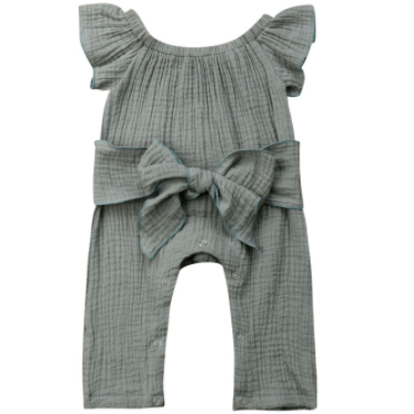 PREORDER Miss Jade Baby Girl Jumpsuit - Little Adora and Company
