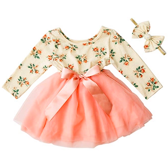 Natalia Baby Girl Dress - Little Adora and Company