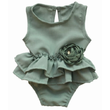 Eden Baby Girl Romper - Little Adora and Company