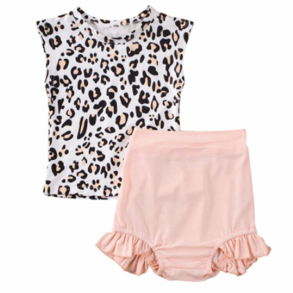 PRE ORDER The Puurfect Baby Girl Short Set - Little Adora and Company