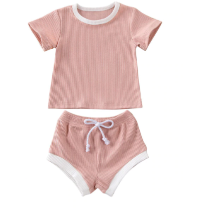 PRE ORDER So Cute So Casual Baby Short Set - Little Adora and Company