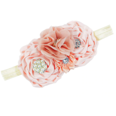 Flower Jewels Baby Girl  Headband - Little Adora and Company