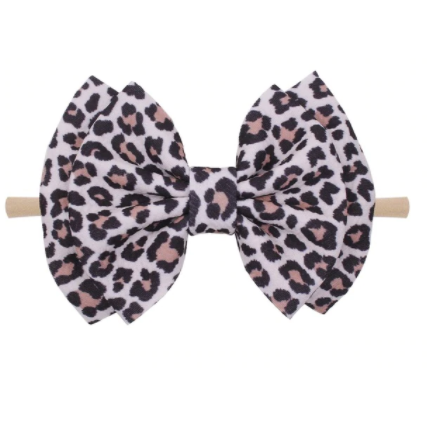 Leopard Girl Baby Headband - Little Adora and Company