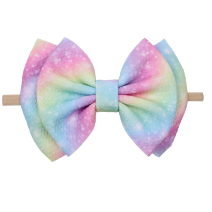All Rainbows Baby Girl Headband - Little Adora and Company