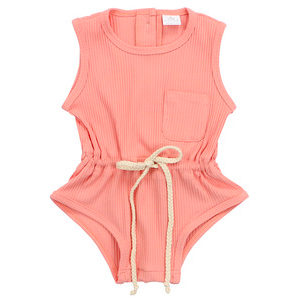 Blushful Baby Girl Romper - Little Adora and Company