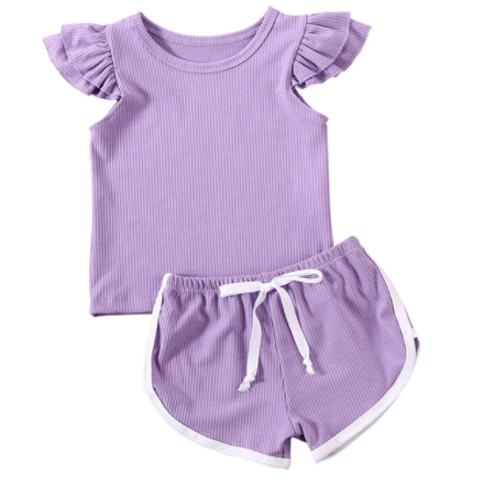 Play Time Baby Girl Outfit - Little Adora and Company