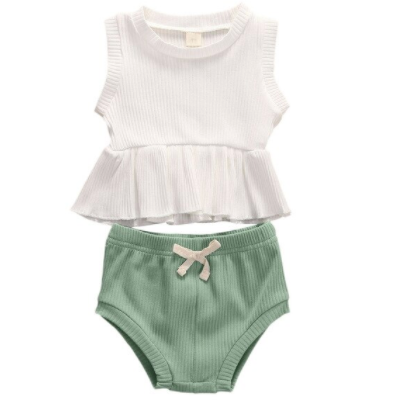 (PRE ORDER) Fun In the Sun Baby Girl  Short Set - Little Adora and Company