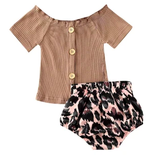 PREORDER Wild Child Baby Girl Set - Little Adora and Company