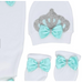 Crown Princess Baby Girl 3 Pcs Set - Little Adora and Company