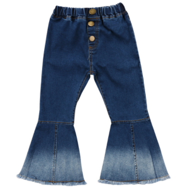 PREORDER My Denim Bells Girls Jeans - Little Adora and Company