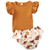 PREORDER Poppy Petals Baby Girl Outfit - Little Adora and Company
