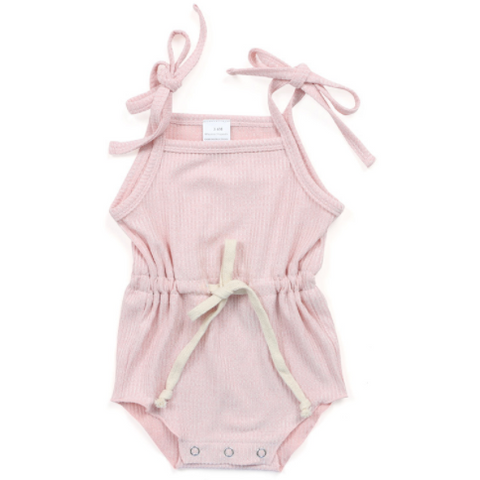Sweet Pea Baby Girl Romper - Little Adora and Company