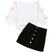 PRE ORDER Miss Pom Pom Baby Girl Outfit - Little Adora and Company