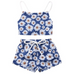 Sunflower Dreaming Baby Girl Outfit - Little Adora and Company