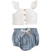 PRE ORDER Palmer Baby Girl Outfit - Little Adora and Company