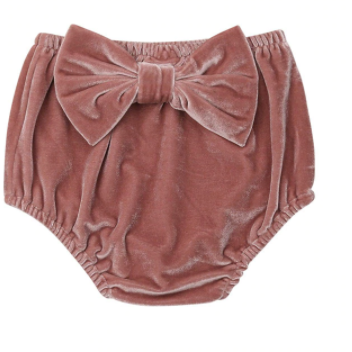 PRE OREDER Oh So Velvety Baby Girl Bloomers - Little Adora and Company