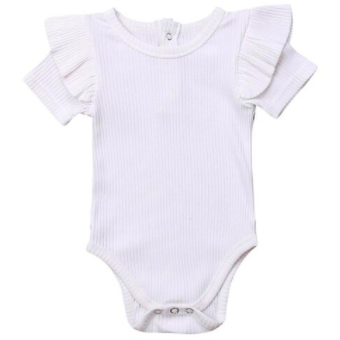 PRE ORDER Ruffled Cutie Baby Girl Bodysuit - Little Adora and Company