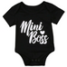 PREORDER Mini Boss Baby Girl Bodysuit - Little Adora and Company