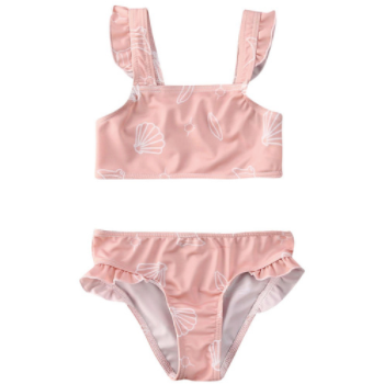 PRE ORDER Seashells Baby Girl Swimsuit - Little Adora and Company