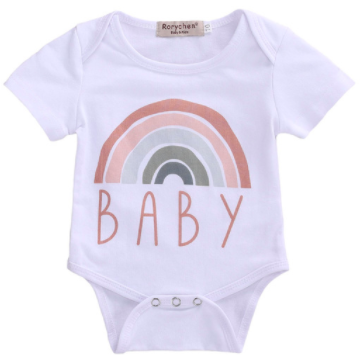 PRE ORDER Rainbow Baby Bodysuit - Little Adora and Company