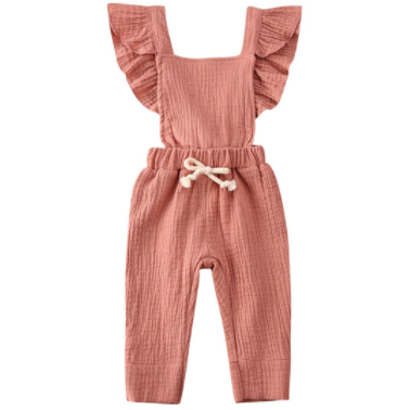 PRE ORDER Lillian Baby Girl Jumpsuit - Little Adora and Company